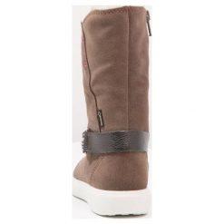 Ecco ECCO S7 Kozaki dark clay. Niebieskie buty zimowe damskie marki Roxy, z tworzywa sztucznego, na wysokim obcasie. W wyprzedaży za 342,30 zł.