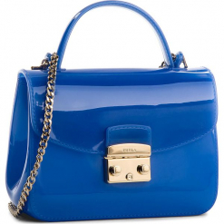 Torebka FURLA - Candy 961667 B BOC3 PL0 Gineoro e. Niebieskie torebki klasyczne damskie marki Furla, z tworzywa sztucznego. W wyprzedaży za 479,00 zł.
