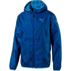Puma Kurtka Sportowa Ess Solid Windbreaker M Blue S. Czerwone kurtki sportowe męskie marki Puma, xl, z materiału. W wyprzedaży za 125,00 zł.
