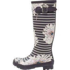 Tom Joule WELLY PRINT Kalosze grey. Szare buty zimowe damskie Tom Joule, z kauczuku. W wyprzedaży za 201,75 zł.