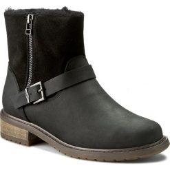 Botki EMU AUSTRALIA - Roadside W11296 Black. Szare buty zimowe damskie marki EMU Australia, z gumy. Za 859,00 zł.