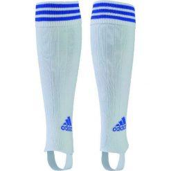 Skarpetogetry piłkarskie: Adidas Getry piłkarskie 3 Stripe Stirru Junior białe r. 43-45 (297109)