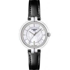 RABAT ZEGAREK TISSOT T-Lady T094.210.16.111.00. Białe zegarki męskie marki TISSOT, ze stali. W wyprzedaży za 1012,00 zł.