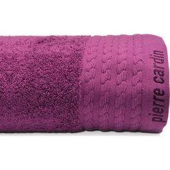 Kąpielówki męskie: Ręcznik w kolorze fioletowym