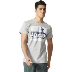 Adidas Koszulka Terrex Trial Running Tee szara r. L (BR7205). Szare t-shirty męskie Adidas, l. Za 104,75 zł.