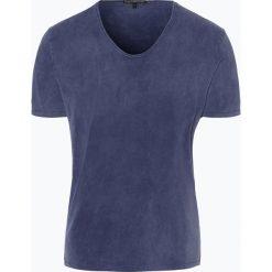 Drykorn - T-shirt męski – Ravy, niebieski. Niebieskie t-shirty męskie marki DRYKORN, m, z dekoltem karo. Za 229,95 zł.