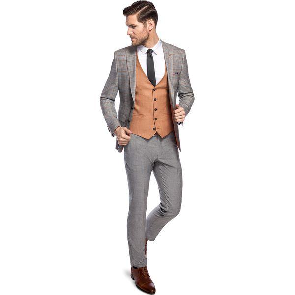 705e7f6385910 Czerwone garnitury męskie - Promocja. Nawet -70%! - Kolekcja wiosna 2019 -  myBaze.com