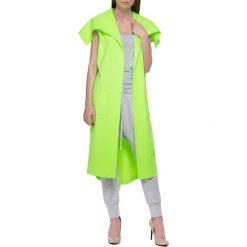 Kamizelki damskie: Kamizelka w kolorze neonowozielonym