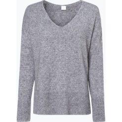 Swetry klasyczne damskie: BOSS Casual - Sweter damski z dodatkiem alpaki – Ilallon, szary