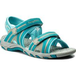Sandały KANGAROOS - Corser 16089 000 802 D Dk Smaragd/Lt Grey. Niebieskie sandały męskie skórzane marki KangaROOS. W wyprzedaży za 139,00 zł.