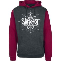 Slipknot All Hope Blood Bluza z kapturem czerwony/szary. Czarne bluzy męskie rozpinane marki Slipknot, m, z nadrukiem, z kapturem. Za 184,90 zł.