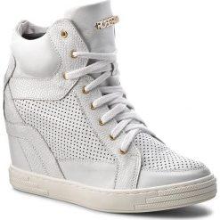 Sneakersy damskie: Sneakersy ROBERTO – 474/D Srebro