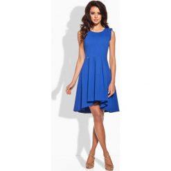 Sukienki: Elegancka rozkloszowana sukienka chaber
