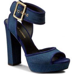 Rzymianki damskie: Sandały PIERRE BALMAIN – SF606 S47 725 Denim Blue