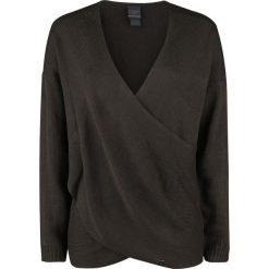 Outlander Crossover Wrap Bluza ciemnobrązowy. Brązowe bluzy rozpinane damskie Outlander, xxl. Za 199,90 zł.