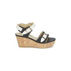 Sandały Lumberjack  ELODIE. Czarne sandały damskie marki Lumberjack. Za 244,30 zł.