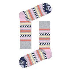 Skarpety Happy Socks Stripes & Stripes (SAS01-9001). Czarne skarpetki męskie marki Stance. Za 20,99 zł.