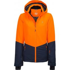Kurtki damskie: Kurtka narciarska damska KUDN620 - pomarańcz neon - Outhorn