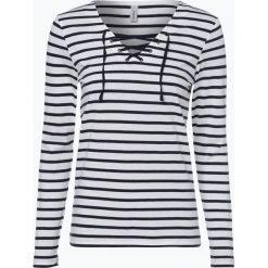 T-shirty damskie: soyaconcept® – Damska koszulka z długim rękawem, czarny