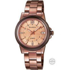Zegarek Casio Damski SHE-4512BR-9AUER Sheen Szafir. Różowe zegarki damskie CASIO. Za 553,00 zł.