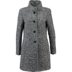 Płaszcze damskie pastelowe: comma Płaszcz wełniany /Płaszcz klasyczny black, white