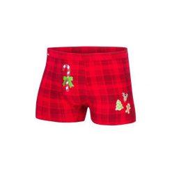 Bokserki Candy Cane 017/42 Merry Christmas. Niebieskie bokserki męskie marki Cornette. Za 39,90 zł.