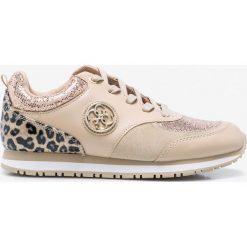 Guess Jeans - Buty. Brązowe buty sportowe damskie marki NEWFEEL, z gumy. W wyprzedaży za 359,90 zł.