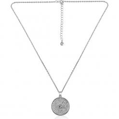 """Naszyjnik """"Amarillo"""" z kryształami Swarovski - dł. 42 cm. Szare naszyjniki damskie marki W.KRUK, srebrne. W wyprzedaży za 65,95 zł."""