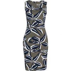 Sukienki: Sukienka shirtowa bonprix ciemnooliwkowy