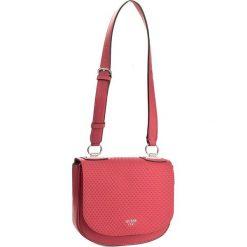Torebka GUESS - Blakley Shoulder Bag HWVY66 87180 LIP. Czerwone listonoszki damskie marki Guess, z aplikacjami. W wyprzedaży za 309,00 zł.