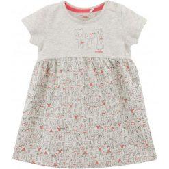 Sukienki niemowlęce: Melanżowa sukienka w deseń dla niemowlaka