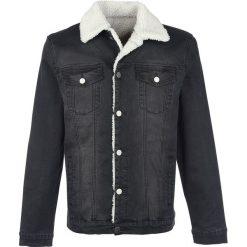 Forplay Jeans Jacket with Berber Fleece Lining Kurtka czarny. Niebieskie kurtki męskie jeansowe marki Reserved, l. Za 244,90 zł.