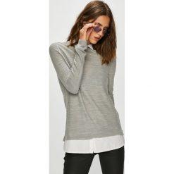 Jacqueline de Yong - Sweter. Szare swetry klasyczne damskie marki Jacqueline de Yong, l. Za 119,90 zł.