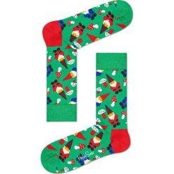 Happy Socks - Skarpety Santa Christmas. Zielone skarpetki męskie Happy Socks. W wyprzedaży za 29,90 zł.