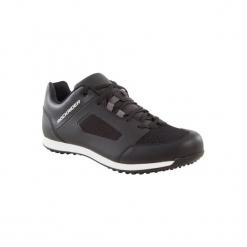 Buty Na Rower Mtb St 100. Czarne buty skate męskie marki Kazar, z nubiku, przed kolano, na wysokim obcasie. Za 149,99 zł.