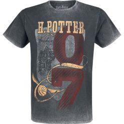 T-shirty męskie z nadrukiem: Harry Potter Seeker 07 T-Shirt szary