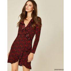 Sukienki: Sukienka Lola czerwone róże