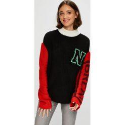 Noisy May - Sweter. Szare swetry klasyczne damskie Noisy May, l, z dzianiny. W wyprzedaży za 149,90 zł.