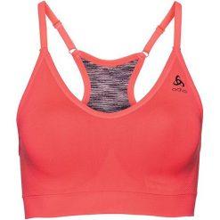 Biustonosze sportowe: Odlo Biustonosz Sports Bra Padded Seamless Soft pomarańczowy r. S (130411/30381/S)