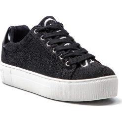 Sneakersy GUESS - FLMEA4 FAM12 BLACK. Czarne sneakersy damskie Guess, z materiału. Za 439,00 zł.