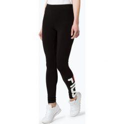 Legginsy sportowe damskie: FILA - Sportowe legginsy damskie, czarny