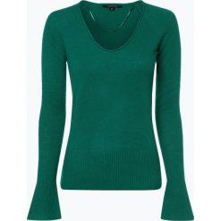 Swetry damskie: Comma - Sweter damski z dodatkiem kaszmiru, zielony