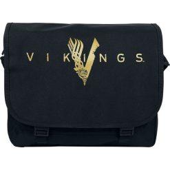 Torebki klasyczne damskie: Vikings Logo Torba na ramię czarny