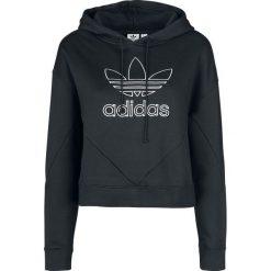 Adidas CLRDO Hoody Bluza z kapturem damska czarny/biały. Białe bluzy z kapturem damskie Adidas, xs. Za 199,90 zł.