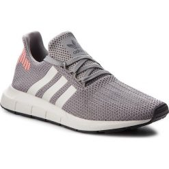 Buty adidas - Swift Run B37728 Grethr/Cblack/Greone. Czarne buty skate męskie marki Adidas, z kauczuku. W wyprzedaży za 269,00 zł.