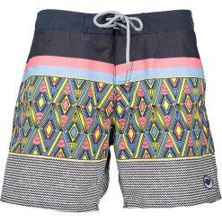 """Szorty kąpielowe """"Cecanto"""" w kolorze niebieskim ze wzorem. Niebieskie szorty męskie marki Brunotti, m, z denimu. W wyprzedaży za 99,95 zł."""