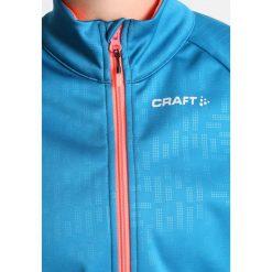 Craft RIME  Kurtka Softshell teal/panic. Czarne kurtki sportowe damskie marki Craft, s, z materiału. W wyprzedaży za 314,25 zł.