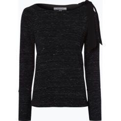 Bluzy damskie: comma casual identity - Damska bluza nierozpinana, czarny