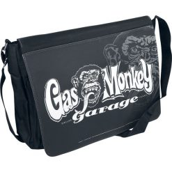Torebki klasyczne damskie: Gas Monkey Garage Logo Torba na ramię czarny