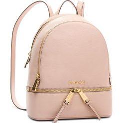 Plecak MICHAEL MICHAEL KORS - Rhea Zip 30S5GEZB1L  Soft Pink. Czerwone plecaki damskie MICHAEL Michael Kors, ze skóry, eleganckie. Za 1419,00 zł.